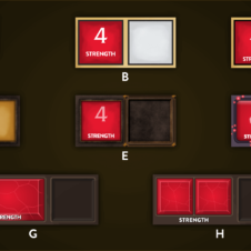 Iterating to the right solution and aesthetic: Attribute Squares
