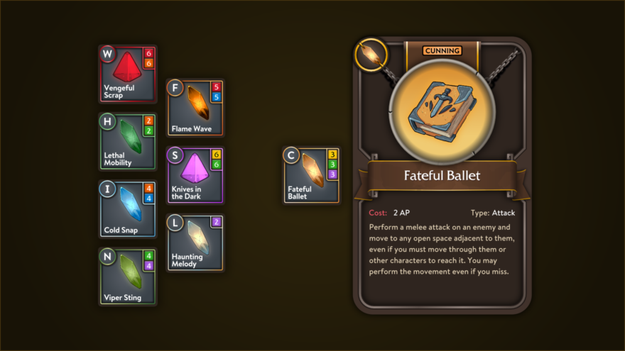 Why we made individual Skills into equippable items