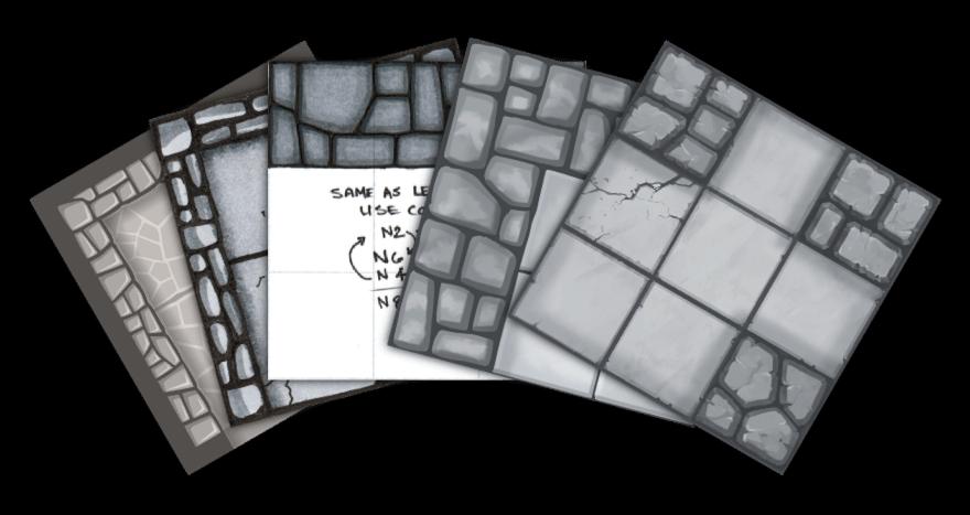 Tile Design Progression